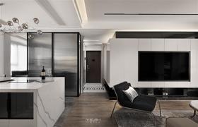 120平米三现代简约风格走廊效果图