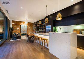 富裕型140平米复式现代简约风格厨房设计图
