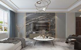 140平米四室兩廳現代簡約風格客廳裝修案例