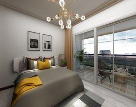 70平米現代簡約風格臥室圖
