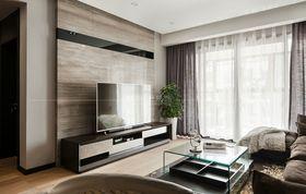 100平米三室一廳現代簡約風格客廳裝修案例