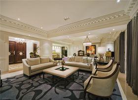 20万以上140平米四欧式风格客厅欣赏图