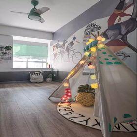 110平米三室两厅北欧风格儿童房效果图