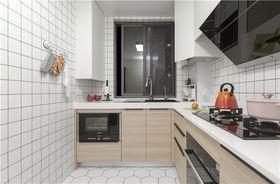 80平米北歐風格廚房圖片