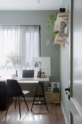 90平米现代简约风格书房装修效果图