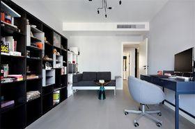 110平米三室三厅混搭风格书房装修图片大全