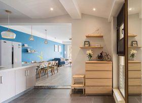 50平米公寓混搭风格玄关装修案例
