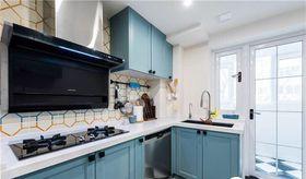 70平米三室两厅现代简约风格厨房效果图