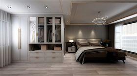 120平米四室两厅现代简约风格卧室装修图片大全