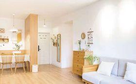 140平米三室一厅日式风格客厅装修效果图