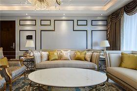 140平米四室三厅法式风格客厅装修案例