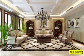 140平米别墅美式风格客厅图片大全