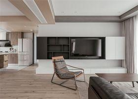 140平米復式現代簡約風格客廳設計圖