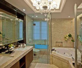 20万以上140平米四室四厅欧式风格卫生间装修图片大全
