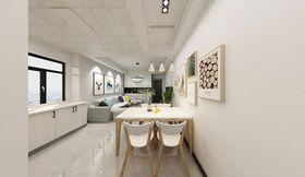 140平米現代簡約風格餐廳欣賞圖