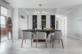 90平米四室兩廳現代簡約風格餐廳欣賞圖
