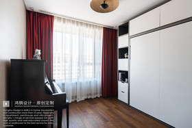 140平米三混搭风格卧室装修案例