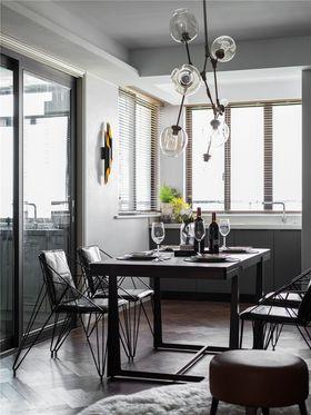 90平米現代簡約風格餐廳圖