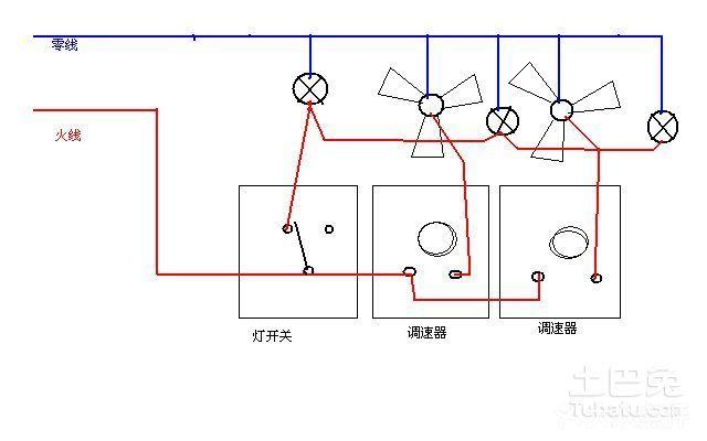 吊扇电容调速原理谁能介绍下?