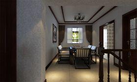 经济型140平米三室两厅中式风格餐厅装修图片大全