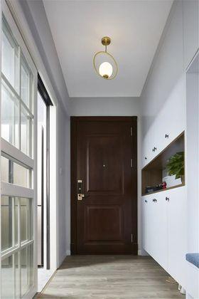 120平米三室兩廳現代簡約風格玄關設計圖