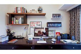 80平米现代简约风格书房装修图片大全