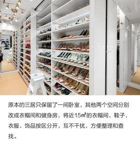 豪华型140平米三室两厅美式风格衣帽间欣赏图