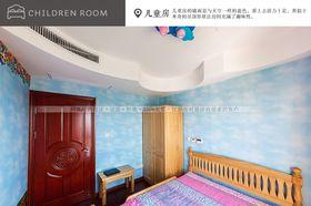 豪华型140平米三室两厅中式风格儿童房效果图