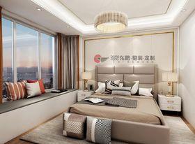 140平米四室两厅北欧风格卧室设计图