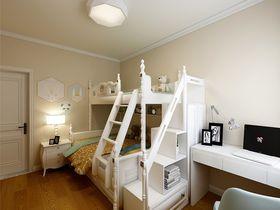 100平米三美式风格儿童房装修案例