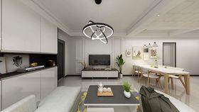 140平米現代簡約風格客廳裝修圖片大全