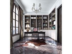 20万以上140平米复式混搭风格书房装修效果图