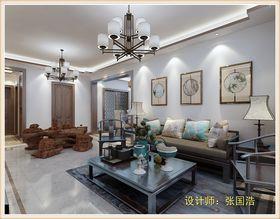 140平米三中式风格客厅图片大全