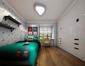 110平米三室两厅现代简约风格儿童房设计图