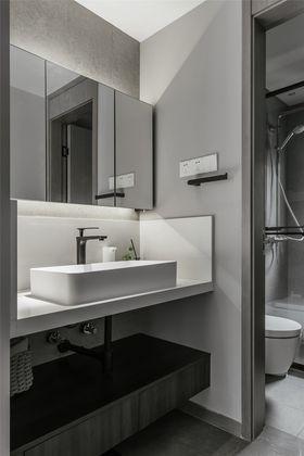 140平米四室一廳現代簡約風格衛生間欣賞圖
