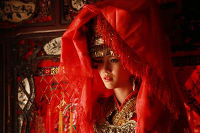 嘉绒藏族的婚礼习俗图片