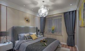 经济型80平米现代简约风格卧室装修效果图