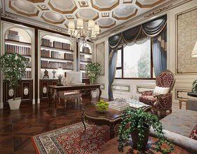 140平米別墅法式風格書房圖