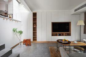 90平米现代简约风格客厅欣赏图