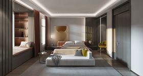 140平米別墅現代簡約風格臥室效果圖