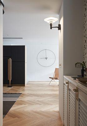 140平米三室两厅北欧风格玄关图