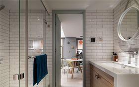 100平米三室一厅混搭风格卫生间欣赏图