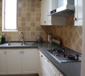 30平米以下超小户型中式风格厨房图