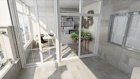 140平米三室一厅现代简约风格阳光房图片大全