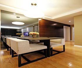 富裕型110平米三室两厅现代简约风格影音室装修效果图