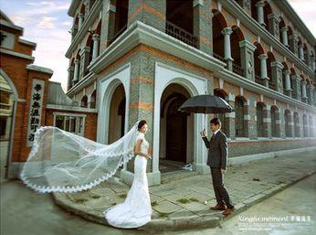 讲故事的婚纱照 专属于你们