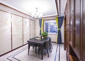 90平米三室两厅中式风格餐厅图