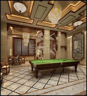20万以上140平米别墅中式风格健身室设计图