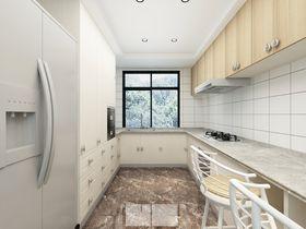 20万以上140平米复式现代简约风格厨房图片大全