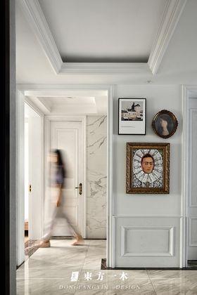 80平米三室两厅法式风格玄关设计图